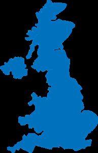 united, kingdom, map